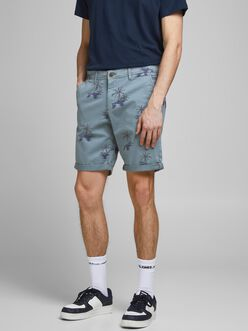 PRINTED BOWIE CHINO SHORTS